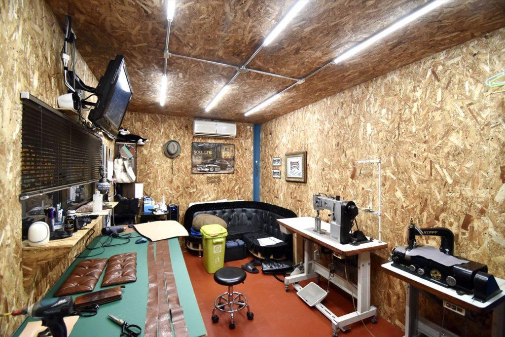 オーナーの作業スペース