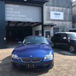 BMW Z4 ルーフライニング張り替え