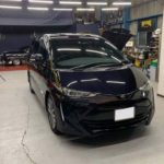 【施工実績】トヨタ エスティマ ボディコーティング施工