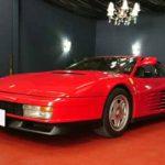 1986年式 フェラーリ テスタロッサ ~引取り完了~